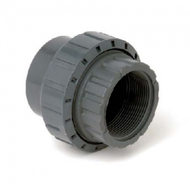 Union with solvent weld socket Fip