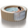 Φουσκωτό spa στρογγυλό