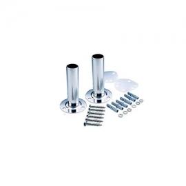 Βάση στήριξης σκάλας εξωτερική με φλάτζα inox 304 Emaux