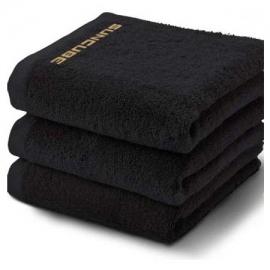 Μαύρη πετσέτα σάουνας SunCube