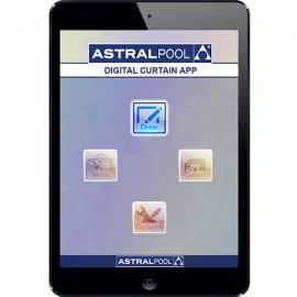Ψηφιακή εφαρμογή κουρτίνας νερού Astral