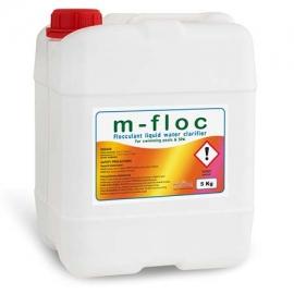 Κροκιδωτικό υγρό M-floc