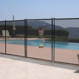 Προστατευτικός φράχτης πισίνας με δίχτυ