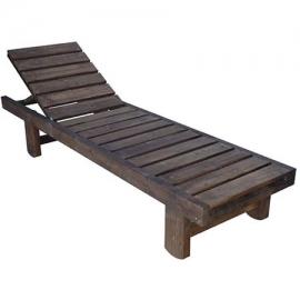 Ξαπλώστρα ξύλινη Tiara