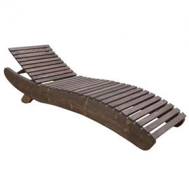 Ξαπλώστρα ξύλινη Wave