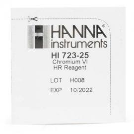 Αντιδραστήρια χρωμίου VI 25 τεστ Hanna