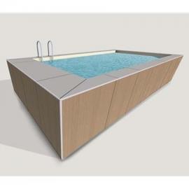 Prefabricated pool liner Mediterranea