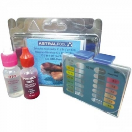 Test kit cl-br-ph eco astral