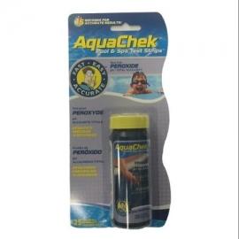 Τέστ υγρού οξυγόνου με strips aquachek