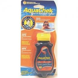 Τέστ στερεού οξυγόνου ph-alc με strips aquachek