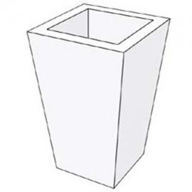 Γλάστρα τετράγωνη διακοσμητική